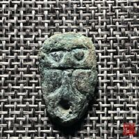 B.C 4 CENTURY FIGHTING STATE PERIOD CHU STATE RARE COIN GHOS