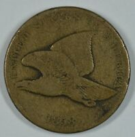 1858 FLYING EAGLE CIRCULATED PENNY VG DETAILS  SEE STORE FOR DISCOUNTS BL41