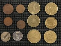 AUSTRALIA COIN LOT   12 EXCELLENT OLDER MIXED VALUE COINS