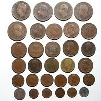 19TH & 20TH CENTURY ITALY COPPER & SILVER COINS