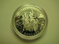 2014 PROOF $15 EXPLORING CANADA 1 VOYAGEURS VOYAGEUR COIN ONLY FIFTEEN DOLLARS