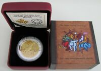 2014 PROOF $20 SEVEN SACRED TEACHINGS 6 HUMILITY WOLF CANADA .9999 SILVER TWENT