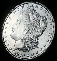 1879- MORGAN DOLLAR - ALMOST UNCIRCULATED - FAST SHIPPING - FAST COIN DELI