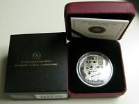 2011 PROOF $20 EMERALD CRYSTAL CHRISTMAS TREE CANADA .9999 SILVER