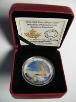 2016 PROOF $20 WEATHER PHENOMENON 3 RADIANT RAINBOW CANADA .9999 SILVER TWENTY