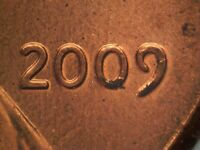 2009 P FY WDDO 015 CDDO 006 LINCOLN CENT DOUBLED DIE