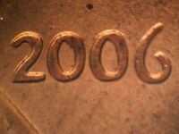 2006 P 1DO 003 WDDO 004 CDDO 013 LINCOLN CENT DOUBLED DIE