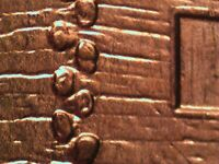 2009 P EC WDDR 019 LINCOLN CENT DOUBLED DIE