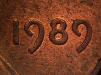 1989 P 1DO 005 LINCOLN CENT DOUBLED DIE