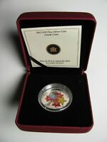 2013 PROOF $20 MURANO VENETIAN GLASS HOLIDAY CANDY CANE CANADA .9999 SILVER