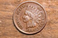 1864 L INDIAN HEAD PENNY CENT