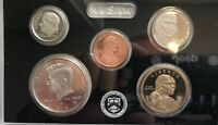 2013 S  SILVER PROOF SET. 14 COIN IN OGP WITH COA & QUARTERS