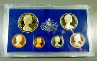 AUTRALIA: ROYAL AUSTRALIAN MINT 1981 SIX COIN PROOF SET IN C