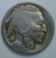 1914 S BUFFALO NICKEL 5 CENTS US UNITED STATES COIN GOOD