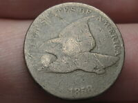 1858 FLYING EAGLE PENNY CENT- LARGE LETTERS