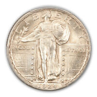 1924-D 25C STANDING LIBERTY QUARTER PCGS MINT STATE 65FH