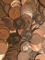 20  LARGE BRITISH PENNIES   QUEEN VICTORIA TO QUEEN ELIZABETH II