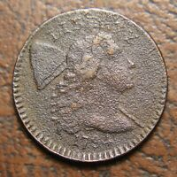 1794 CAPPED LIBERTY LARGE CENT, HEAD OF 1794, S-65