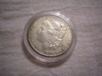 1878CC MORGAN US SILVER DOLLAR FIRST DATE COIN IN PLASTIC CA