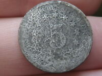 1870 SHIELD NICKEL 5 CENT PIECE, OLD TYPE COIN