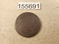 1803 LARGE CENT   CHOCOLATE BROWN HIGHER COLLECTOR GRADE COIN -  155691