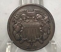 1868 2 CENT COIN-WAY CLASSY