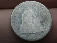 1841 SEATED LIBERTY SILVER DIME- LOWBALL, HEAVILY WORN