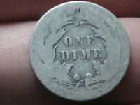 1880- 1889 SEATED LIBERTY SILVER DIME