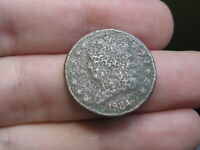 1834 CAPPED BUST HALF CENT- METAL DETECTOR FIND?