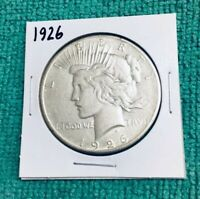 1926 SILVER PEACE DOLLAR MS DETAILS