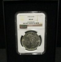 1903-O MORGAN SILVER DOLLAR - NGC MINT STATE 64 - LITTLETON SELECT HOLOGRAM - 007