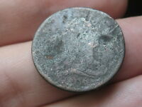 1806 DRAPED BUST HALF CENT- SMALL 6, ROTATED REVERSE