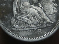 1853 O SEATED LIBERTY HALF DIME- NO ARROWS