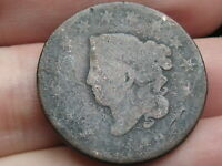 1819 MATRON HEAD LARGE CENT PENNY- SMALL DATE