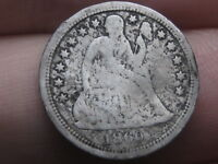1860-S SEATED LIBERTY DIME-  KEY DATE