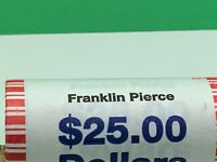 2010 FRANKLIN PIERCE UNOPENED, UNCIRCULATED PRESIDENTIAL ROLL, $25.00 UNOPENNED
