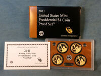COMPLETE 2011 US MINT PRESIDENTIAL DOLLAR COIN S PROOF SET I