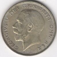 1923 GEORGE V SILVER HALF CROWN | BRITISH COINS | PENNIES2POUNDS