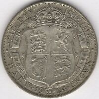 1924 GEORGE V SILVER HALF CROWN | BRITISH COINS | PENNIES2POUNDS