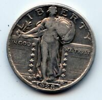 1928-P STANDING LIBERTY QUARTER SEE PROMO