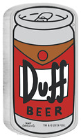 2019 THE SIMPSONS DUFF BEER SIMPSON 1OZ $1 SILVER 99.99  PROOF CAN COIN