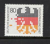 GERMANY 1987 FEDERAL EAGLE 1987 CENSUS SC 1499 MNH STAMP