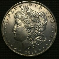 1896 USA ONE MORGAN SILVER DOLLAR COIN UNCIRCULATED. FREE COMBINED SHIPPING