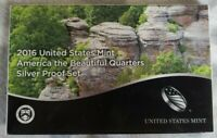 2016 S AMERICA THE BEAUTIFUL NATIONAL PARKS MINT SILVER PROO