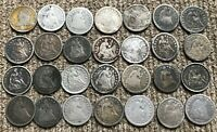 MORGAN DOLLARS:  1883-CC, 1892-S, 1892-CC, 1899 AND 1903-S