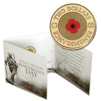 2012 REMEMBRANCE DAY $2 'C' MINTMARK COLOURED UNC RED POPPY