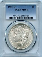 1901-O MORGAN SILVER DOLLAR | PCGS MINT STATE 64