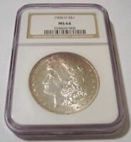 1904 O MORGAN SILVER DOLLAR MINT STATE 64 NGC
