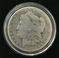 1890 O NEW ORLEANS MORGAN .900 SILVER DOLLAR UNITED STATES COIN MD806