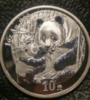 2005 SILVER CHINESE PANDA ONE OUNCE